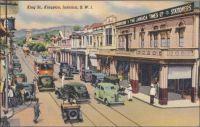 KINGSTON, Jamaica, 1930-1940's; King Street.