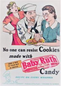 Themes Vintage ads - Baby Ruth Candy