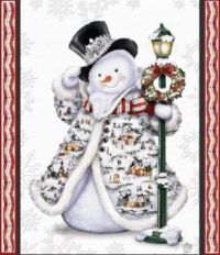 Well Dressed Snowman