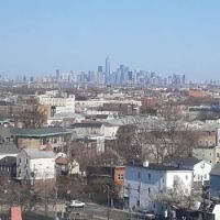 Manhattan view from Newark Hotel