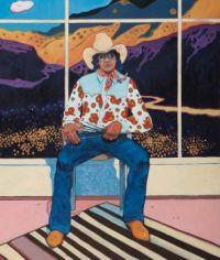 TC Cannon - Self Portrait in the Studio