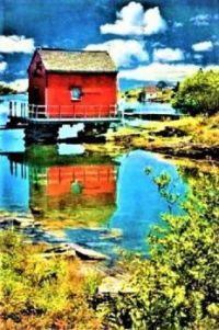 Fishermans Building -- Stonehurst, Nova Scotia- Canada