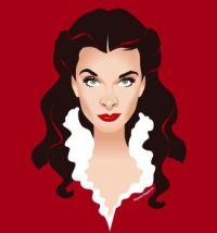 VIVIEN LEIGH - GONE WITH THE WIND 2