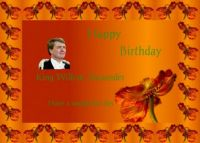 Happy Birthday King Willem Alexander
