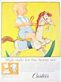 Themes Vintage ads - Carter`s Baby Clothes 1959