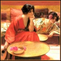 """Idle Hours"" by Henry Siddons Mowbray"