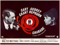 CHARADE - 1963  POSTER - CARY GRANT & AUDREY HEPBURN