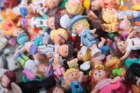 Vintage Polly Pocket Figures