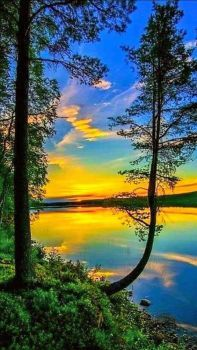 Sunrise at the Lake....