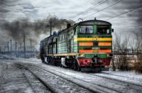 Locomotive-HDR-Photo