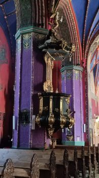 Bydgoszcz, Kathedrale St. Martin und St. Nikolai (Kanzel)
