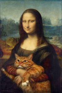 Fat ginger cat rewrote art history and became a mews to great artists.