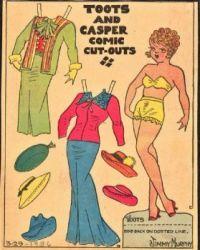 Toots From ''Toots & Casper Comic Strip''   3-29-1936