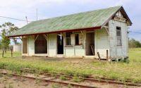 Old railway building