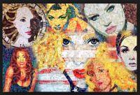 Sandhi Schimmel Gold collage