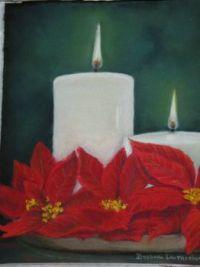 Christmas Candle 2