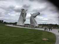 Scottish Kelpies in Falkirk