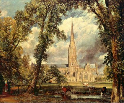 Constable - Salisbury Catherdral from the Bishops Flat