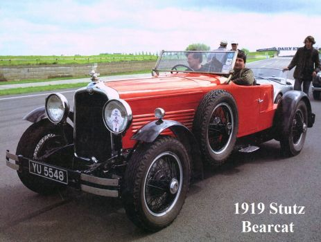 1919 Stutz Bearcat Roadster