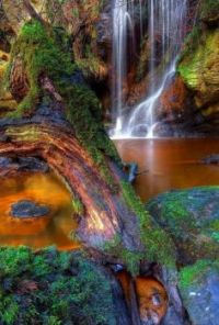 Roughting-Linn-Waterfall-Northumberland-England