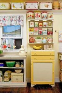 Vintage Tin Kitchen