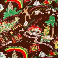 Vintage Hawaiian Fabric #1