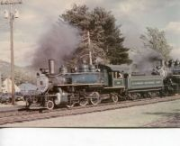 Conway Scenic RR Doubleheaded Steam