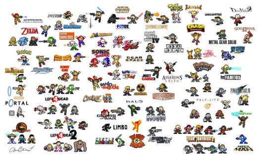 Megaman videogame characters 2