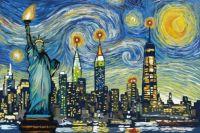 A NYC Starry Night