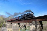 There's something magical about a steam locomotive