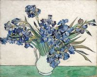 Van Gogh - Vase with Irises, 1890