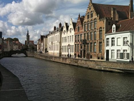 Canal view, Brugges