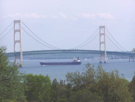 Mighty Mac with freighter