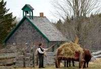 Ross Farm Museum in Nova Scotia