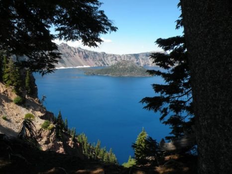 Today was a beautiful day at Crater Lake!