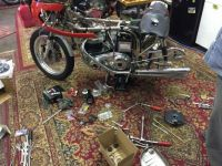 Dunstall Racer in pieces