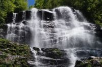 Amicalola Falls, in the mountains of North Georgia