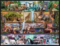 Wild Kingdom Shelves Jigsaw Puzzle