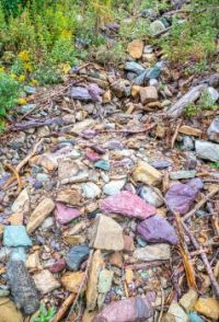 COLORFUL ROCK SLIDE