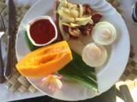 Samoan Resort Breakfast