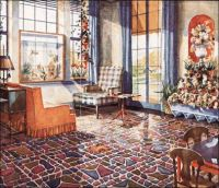 Vintage Advertising - 1930 Sunroom by Armstrong floors