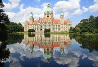 -Neues_Rathaus_ (new Town hall) Hannover, Germany