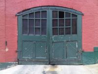 Old doors at Yuengling Brewery
