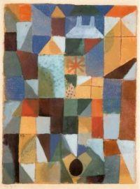 Paul Klee, Cityscape, 1919
