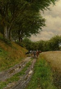 "Peder Mørk Mønsted,  ""The Way Home"""
