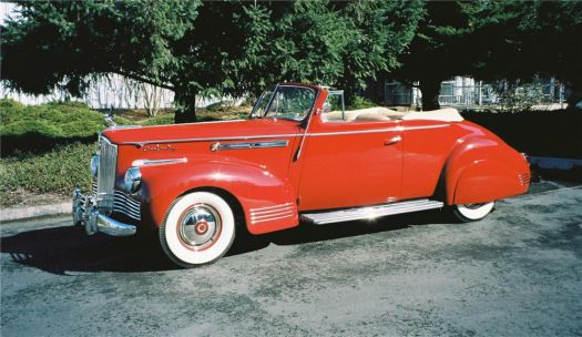 1942 Packard Super 8 Convertible Victoria