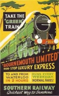 Rail Posters - Bournemouth (4)