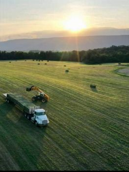 Makin' hay in Central PA (USA)