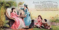 Ayer's Sarsaparilla {Vintage Ads}