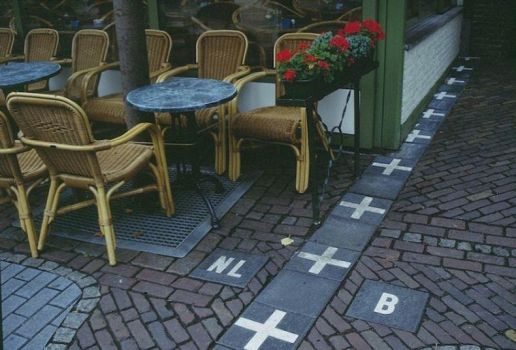 border between the Netherlands and Belgium